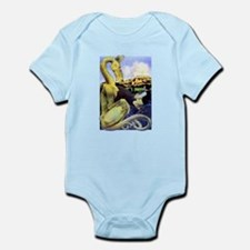 The Reluctant Dragon by Maxfield P Infant Bodysuit