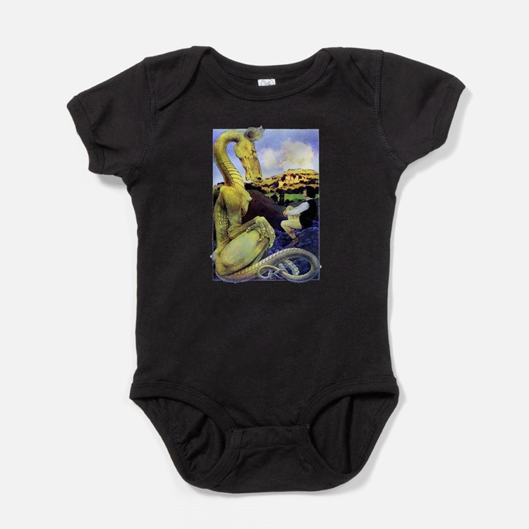 The Reluctant Dragon by Maxfield Par Baby Bodysuit