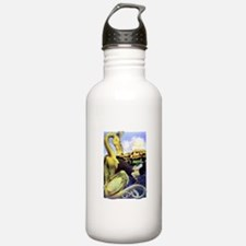 The Reluctant Dragon b Water Bottle