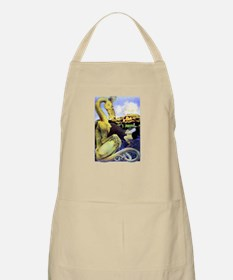 The Reluctant Dragon by Maxfield Parrish Apron