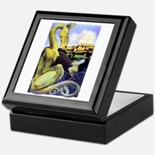 The Reluctant Dragon by Maxfield Parr Keepsake Box