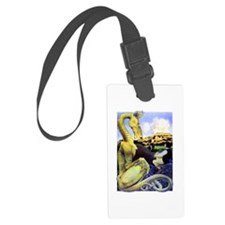 The Reluctant Dragon by Maxfield Luggage Tag