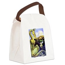 The Reluctant Dragon by Maxfield Canvas Lunch Bag