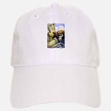 The Reluctant Dragon by Maxfield Parrish Baseball Baseball Cap