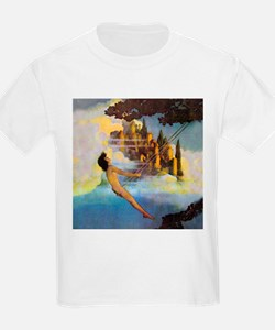 Dinky Bird by Maxfield Parrish T-Shirt
