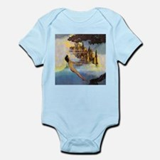 Dinky Bird by Maxfield Parrish Infant Bodysuit