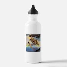 Dinky Bird by Maxfield Water Bottle