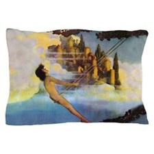 Dinky Bird by Maxfield Parrish Pillow Case