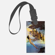 Dinky Bird by Maxfield Parrish Luggage Tag