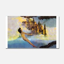Dinky Bird by Maxfield Parrish Car Magnet 20 x 12