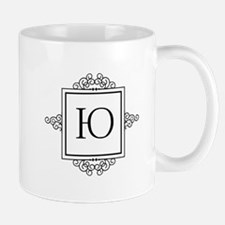 Russian U or Y yoo yu letter Monogram Mugs
