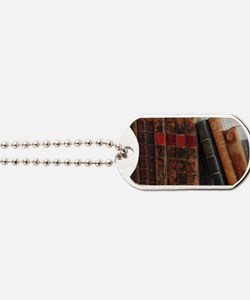 Old Books Dog Tags