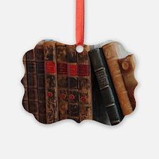 Old Books Ornament
