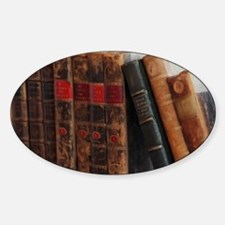 Old Books Decal