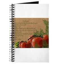 Tomatoes and poetry Journal