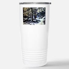 Cezanne - Melting Snow Travel Mug