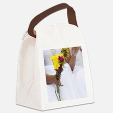 Cute Wedding reception Canvas Lunch Bag