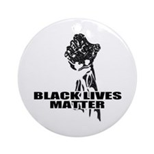 Black lives matter Ornament (Round)