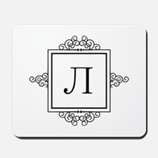 Russian Ehl letter L Monogram Mousepad