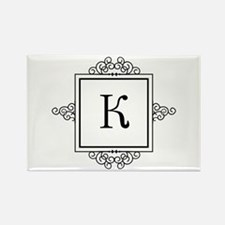 Russian Kah letter K or C Monogram Magnets