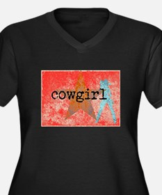 COUNTRY STAR COWGIRL Plus Size T-Shirt