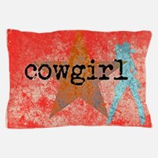 COUNTRY STAR COWGIRL Pillow Case