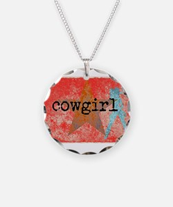 COUNTRY STAR COWGIRL Necklace