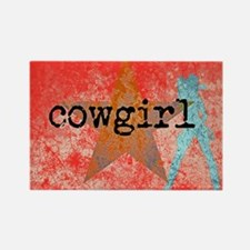 COUNTRY STAR COWGIRL Magnets