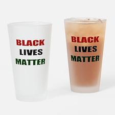 Black lives matter 2 Drinking Glass