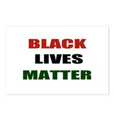Black lives matter 2 Postcards (Package of 8)