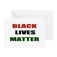 Black lives matter 2 Greeting Card