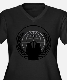 Anonymous Agency Logo Plus Size T-Shirt