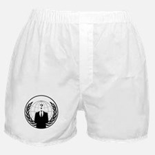 Anonymous Agency Logo Boxer Shorts