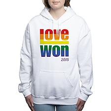 Funny Gay pride Women's Hooded Sweatshirt