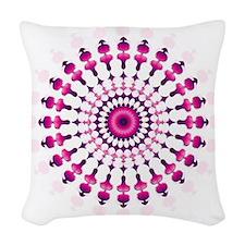 Mandala Woven Throw Pillow
