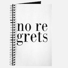 No Regrets Journal