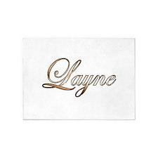 Gold Layne 5'x7'Area Rug