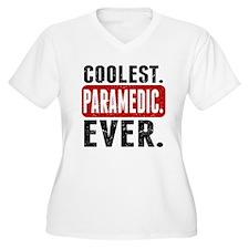 Coolest. Paramedic. Ever. Plus Size T-Shirt
