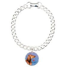 Longhaired Dachshund Bracelet