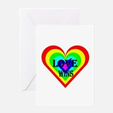 Love Wins Greeting Cards