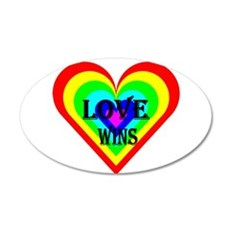 Love Wins Wall Decal