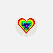 Love Wins Mini Button (10 pack)