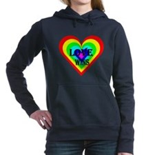 Love Wins Women's Hooded Sweatshirt