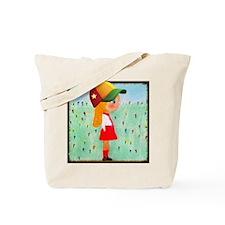 Fashionista Gabby Hopscotch Heart & Hat  Tote Bag