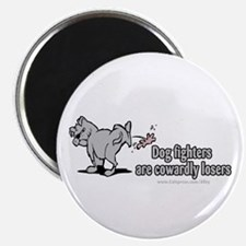 Cowardly Dog Fighters Magnet