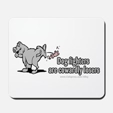 Cowardly Dog Fighters Mousepad