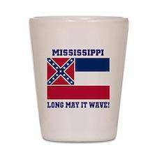 Mississippi State Flag Shot Glass