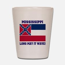 Mississippi State Flag Shot Glass