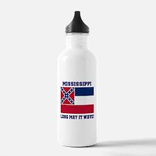 Mississippi State Flag Water Bottle
