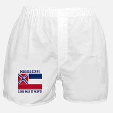 Mississippi State Flag Boxer Shorts